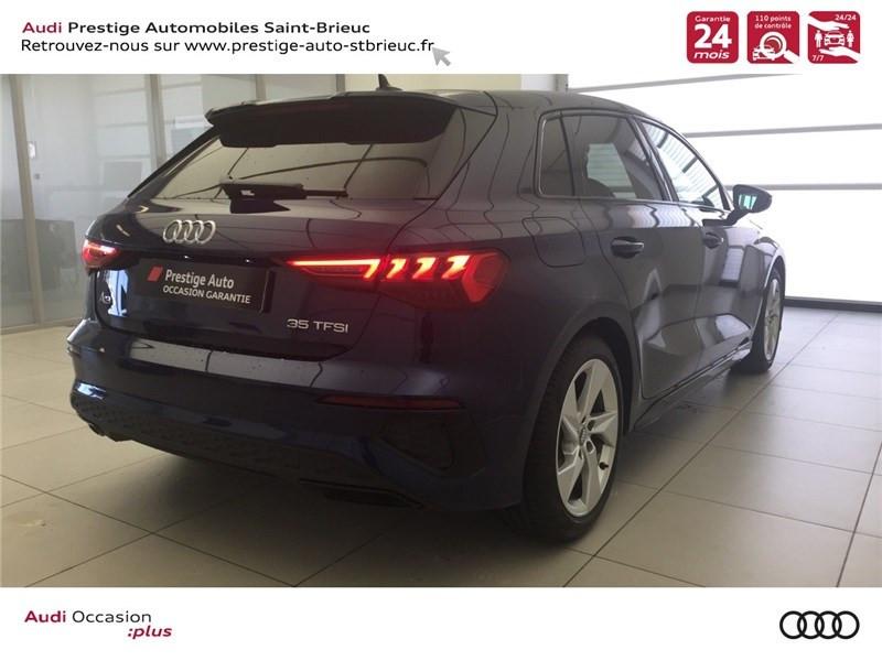Photo 5 de l'offre de AUDI A3/S3 35 TFSI 150 à 36800€ chez Prestige Automobiles – Audi St Brieuc