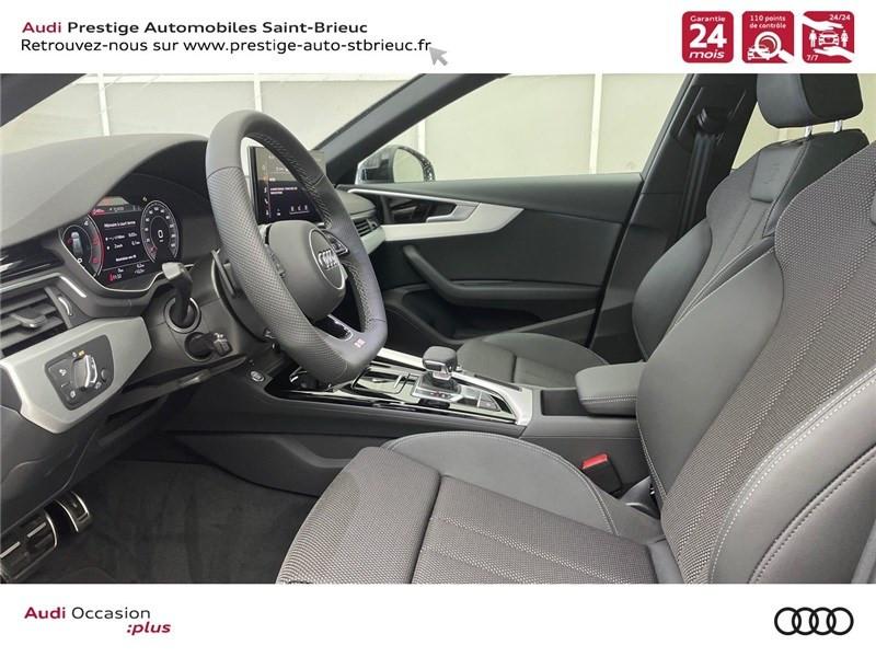 Photo 7 de l'offre de AUDI A4 35 TDI 163 S TRONIC 7 à 46900€ chez Prestige Automobiles – Audi St Brieuc