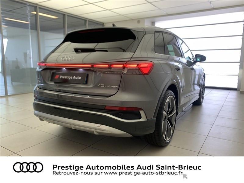Photo 4 de l'offre de AUDI Q4 40 204 CH 82 KW à 71900€ chez Prestige Automobiles – Audi St Brieuc