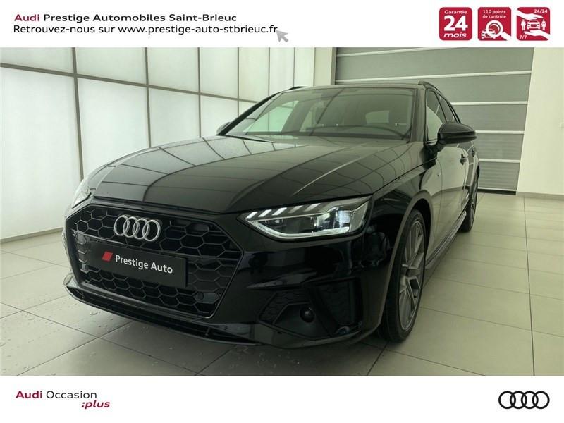 Photo 1 de l'offre de AUDI A4 35 TDI 163 S TRONIC 7 à 46900€ chez Prestige Automobiles – Audi St Brieuc