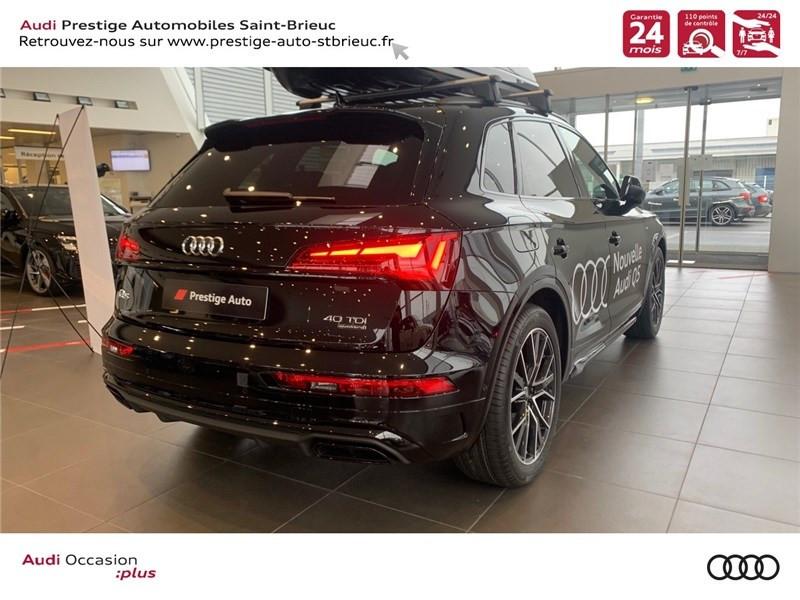 Photo 4 de l'offre de AUDI Q5 FL 40 TDI 204 CH QUATTRO S TRONIC 7 à 64900€ chez Prestige Automobiles – Audi St Brieuc