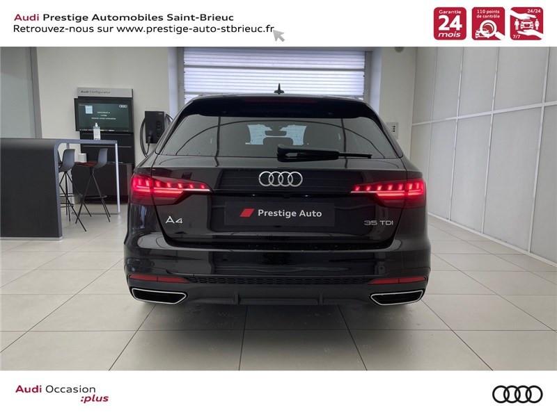 Photo 5 de l'offre de AUDI A4 35 TDI 163 S TRONIC 7 à 46900€ chez Prestige Automobiles – Audi St Brieuc