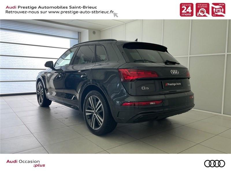 Photo 4 de l'offre de AUDI Q5 35 TDI 163 S TRONIC 7 à 59900€ chez Prestige Automobiles – Audi St Brieuc