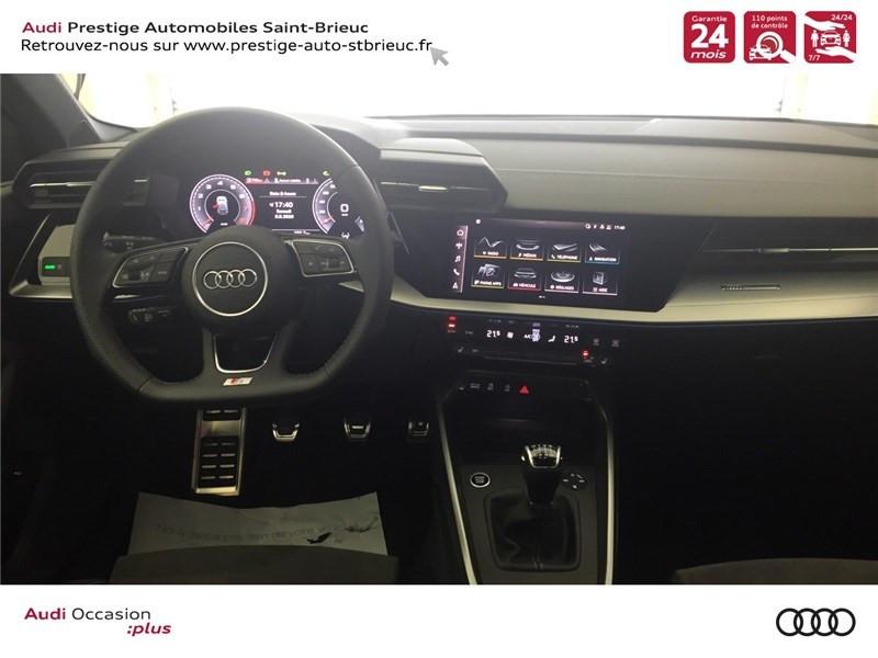Photo 7 de l'offre de AUDI A3/S3 35 TFSI 150 à 36800€ chez Prestige Automobiles – Audi St Brieuc