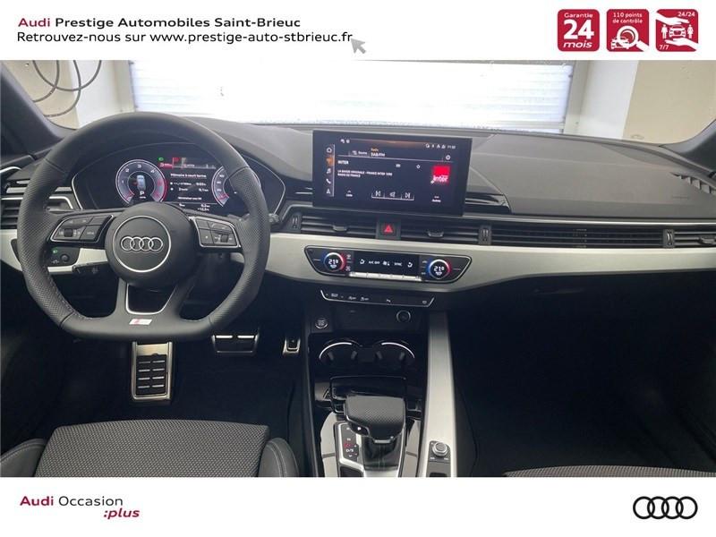 Photo 6 de l'offre de AUDI A4 35 TDI 163 S TRONIC 7 à 46900€ chez Prestige Automobiles – Audi St Brieuc