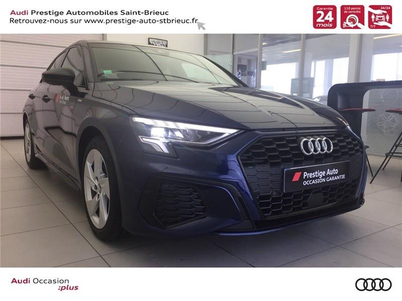 Photo 3 de l'offre de AUDI A3/S3 35 TFSI 150 à 36800€ chez Prestige Automobiles – Audi St Brieuc