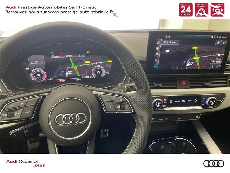 Photo 14 de l'offre de AUDI A4 35 TDI 163 S TRONIC 7 à 46900€ chez Prestige Automobiles – Audi St Brieuc