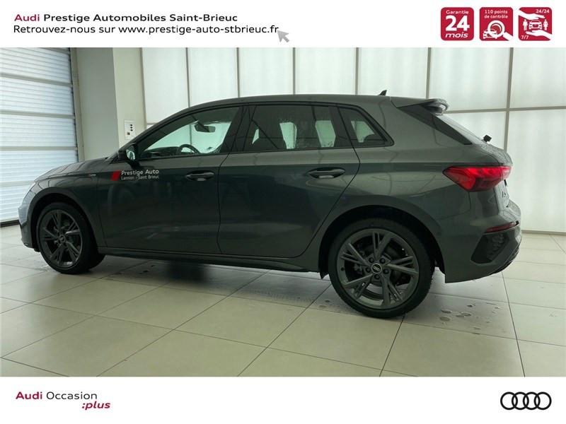Photo 3 de l'offre de AUDI A3/S3 40 TFSIE 204 S TRONIC 6 à 40900€ chez Prestige Automobiles – Audi St Brieuc