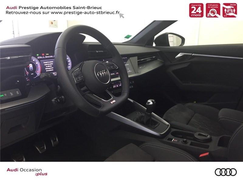 Photo 6 de l'offre de AUDI A3/S3 35 TFSI 150 à 36800€ chez Prestige Automobiles – Audi St Brieuc