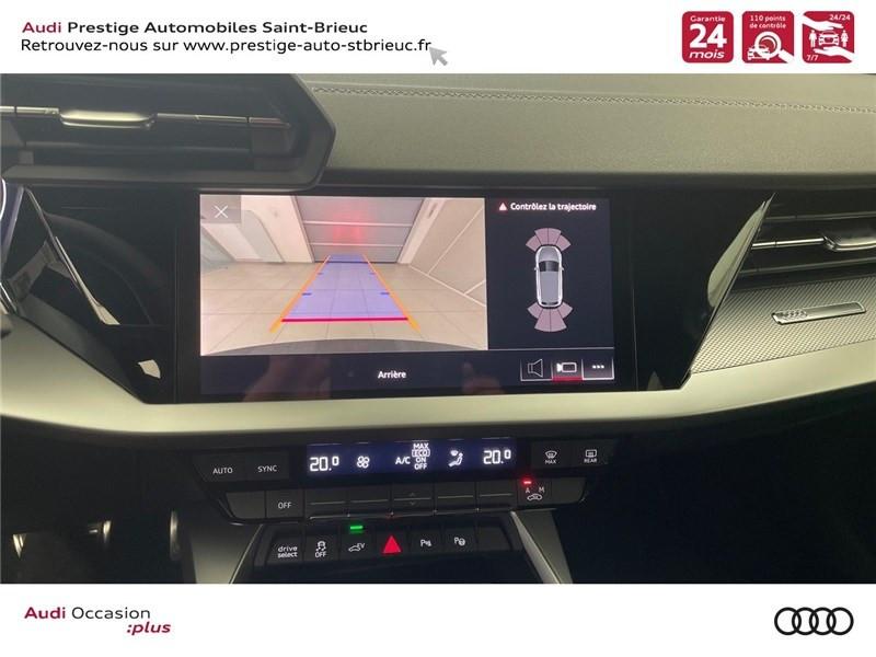 Photo 12 de l'offre de AUDI A3/S3 40 TFSIE 204 S TRONIC 6 à 40900€ chez Prestige Automobiles – Audi St Brieuc