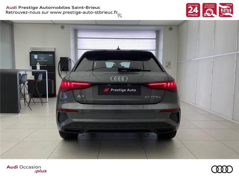 Photo 5 de l'offre de AUDI A3/S3 40 TFSIE 204 S TRONIC 6 à 40900€ chez Prestige Automobiles – Audi St Brieuc