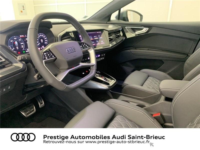 Photo 6 de l'offre de AUDI Q4 40 204 CH 82 KW à 71900€ chez Prestige Automobiles – Audi St Brieuc