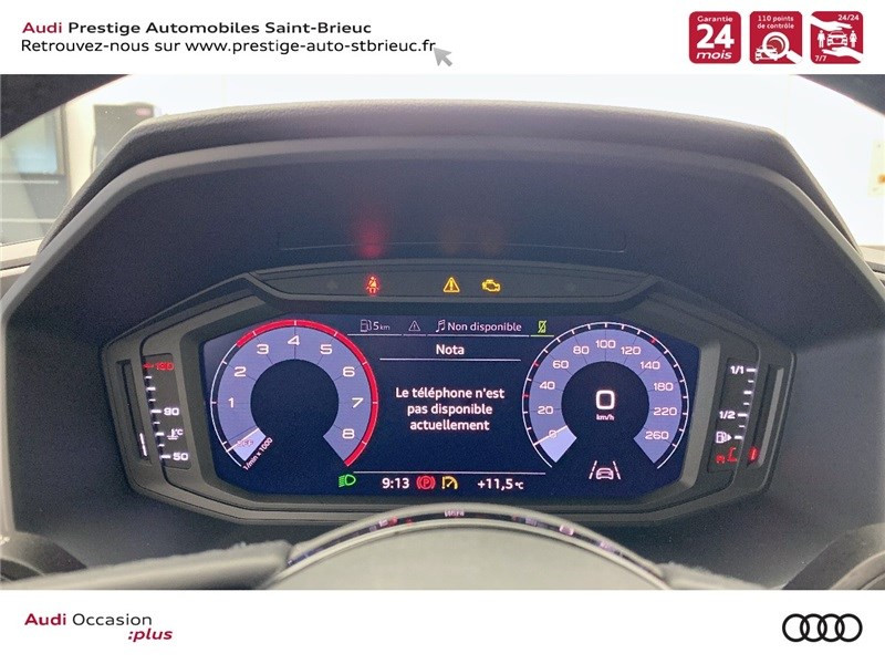 Photo 7 de l'offre de AUDI A1 25 TFSI 95 CH BVM5 à 25900€ chez Prestige Automobiles – Audi St Brieuc