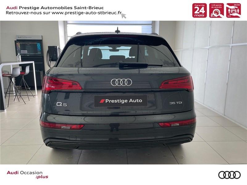 Photo 5 de l'offre de AUDI Q5 35 TDI 163 S TRONIC 7 à 59900€ chez Prestige Automobiles – Audi St Brieuc