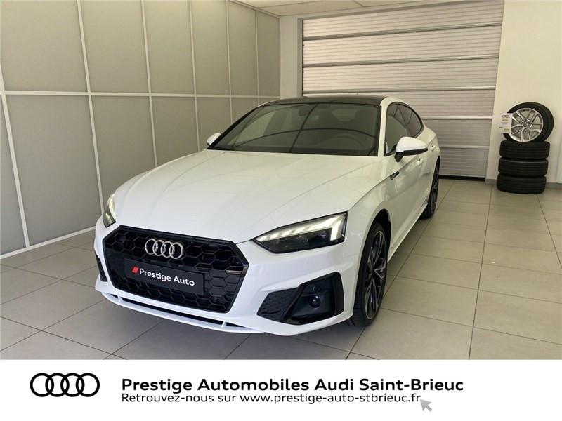 Audi A5 35 TDI 163 S TRONIC 7 Diesel BLANC IBIS Occasion à vendre