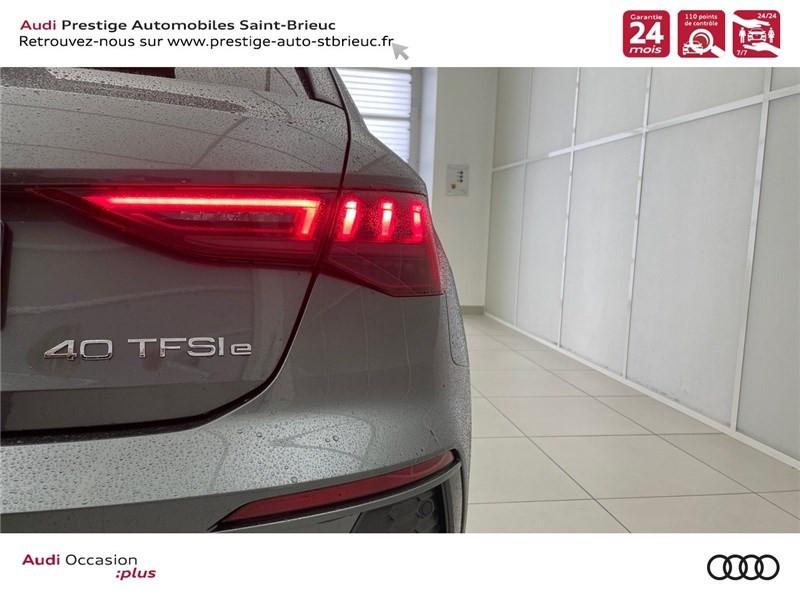 Photo 9 de l'offre de AUDI A3/S3 40 TFSIE 204 S TRONIC 6 à 40900€ chez Prestige Automobiles – Audi St Brieuc