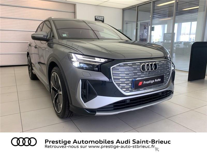 Photo 3 de l'offre de AUDI Q4 40 204 CH 82 KW à 71900€ chez Prestige Automobiles – Audi St Brieuc