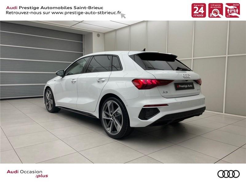 Photo 3 de l'offre de AUDI A3/S3 35 TDI 150 S TRONIC 7 à 41900€ chez Prestige Automobiles – Audi St Brieuc