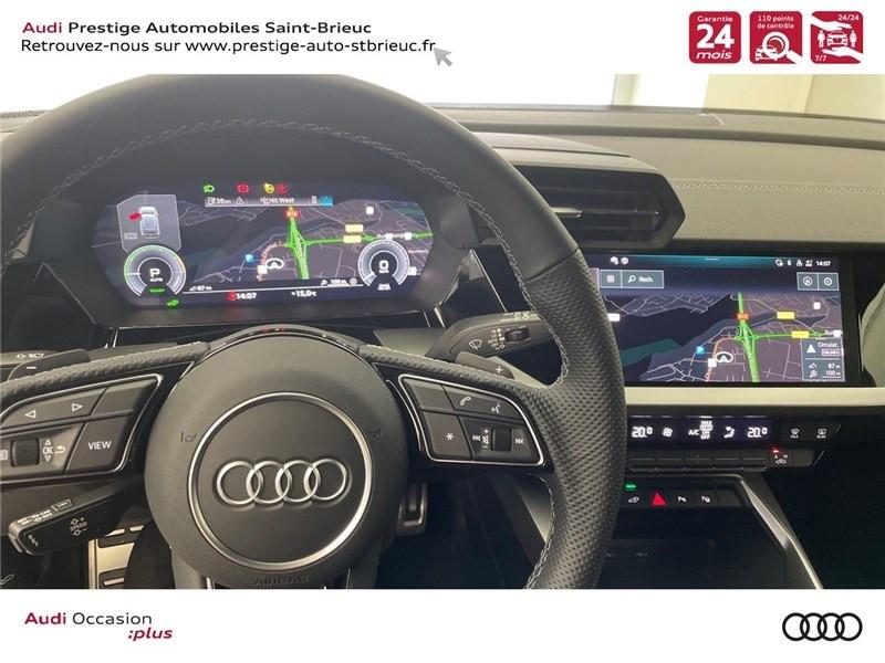 Photo 13 de l'offre de AUDI A3/S3 40 TFSIE 204 S TRONIC 6 à 40900€ chez Prestige Automobiles – Audi St Brieuc