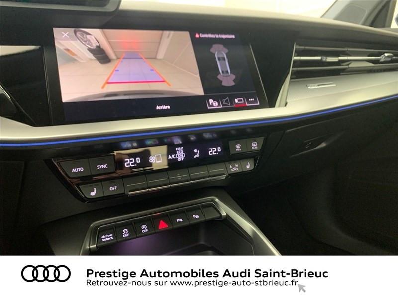 Photo 11 de l'offre de AUDI A3 BERLINE 35 TFSI MHEV 150 S TRONIC 7 à 44479€ chez Prestige Automobiles – Audi St Brieuc