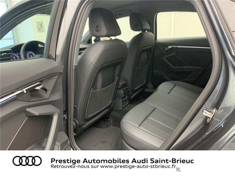 Photo 8 de l'offre de AUDI A3 BERLINE 35 TFSI MHEV 150 S TRONIC 7 à 44479€ chez Prestige Automobiles – Audi St Brieuc