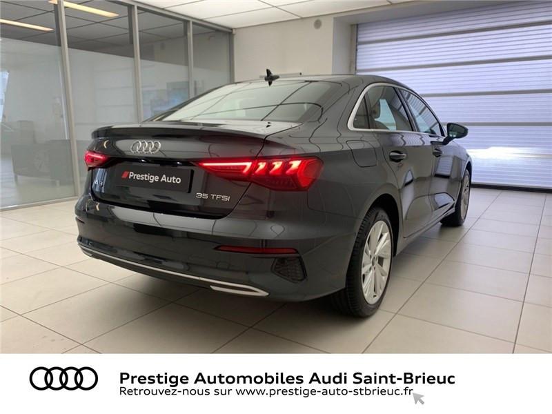 Photo 5 de l'offre de AUDI A3 BERLINE 35 TFSI MHEV 150 S TRONIC 7 à 44479€ chez Prestige Automobiles – Audi St Brieuc