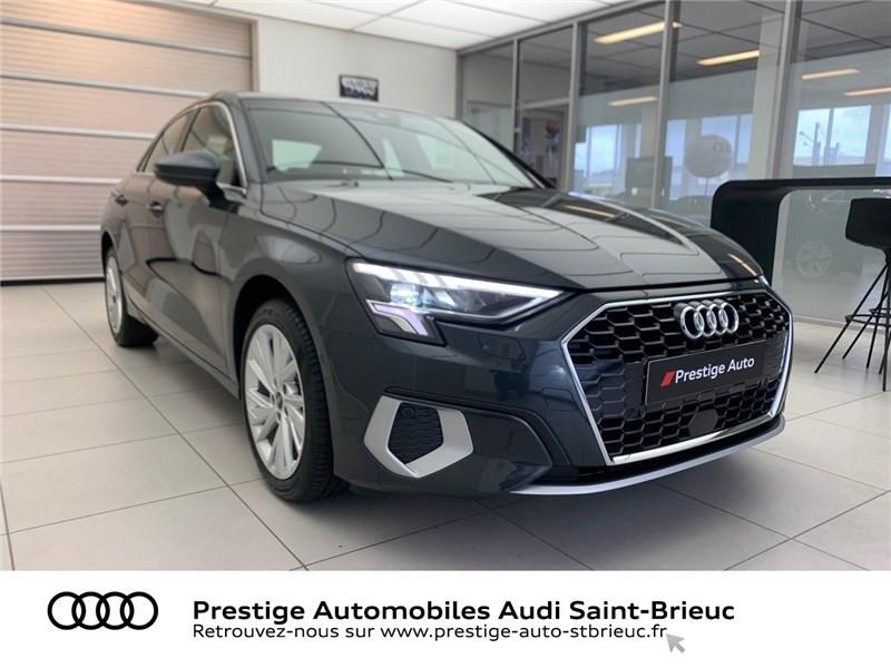 Photo 3 de l'offre de AUDI A3 BERLINE 35 TFSI MHEV 150 S TRONIC 7 à 44479€ chez Prestige Automobiles – Audi St Brieuc