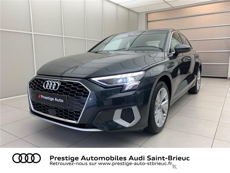 Photo 1 de l'offre de AUDI A3 BERLINE 35 TFSI MHEV 150 S TRONIC 7 à 44479€ chez Prestige Automobiles – Audi St Brieuc