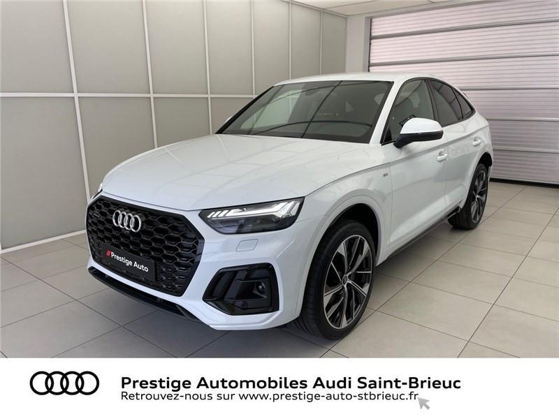 Audi Q5 40 TDI 204 S TRONIC 7 QUATTRO Diesel Blanc Glacier Métallisé Occasion à vendre