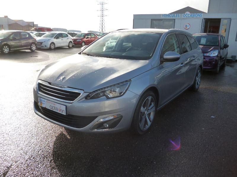 Peugeot 308 SW 1.6 BLUEHDI 100CH ALLURE S&S Diesel GRIS C Occasion à vendre