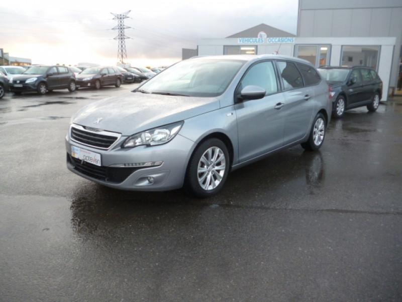 Photo 1 de l'offre de PEUGEOT 308 SW 1.6 BLUEHDI 100CH STYLE S&S à 9900€ chez Jestin autos