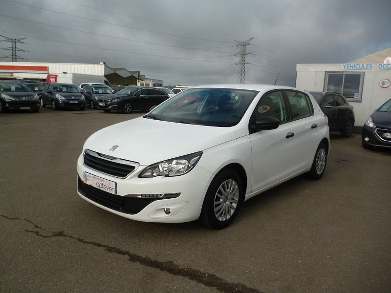 Peugeot 308 1.6 BLUEHDI 100CH ACCESS S&S 5P Diesel BLANC Occasion à vendre