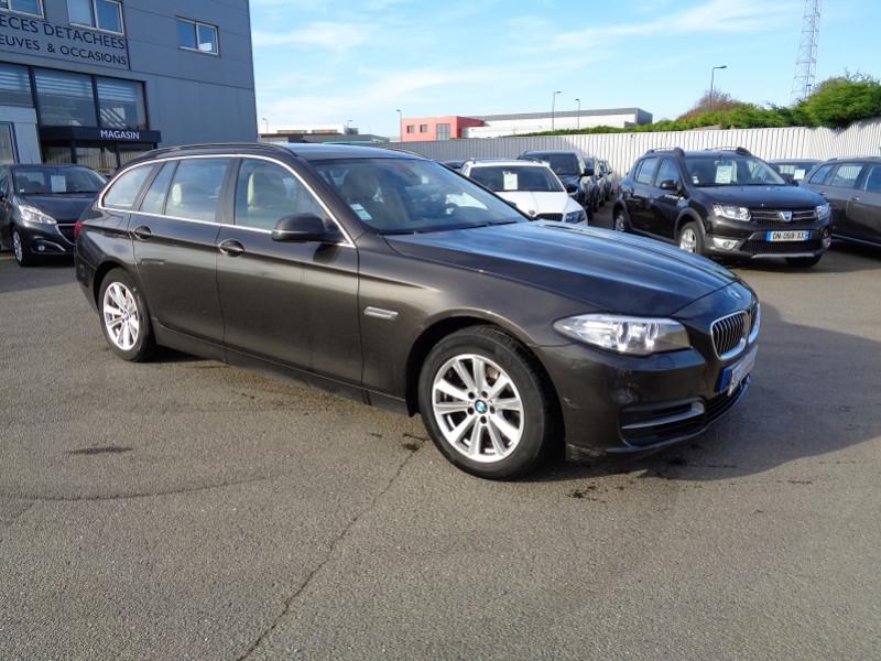 Photo 2 de l'offre de BMW SERIE 5 (F10) TOURING 520D 190CH LOUNGE PLUS à 14200€ chez Jestin autos