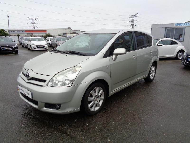 Toyota COROLLA VERSO 136 D-4D SOL 7 PLACES Diesel GRIS C Occasion à vendre