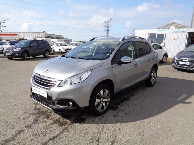 Peugeot 2008 1.6 BLUEHDI 100CH STYLE Diesel GRIS Occasion à vendre
