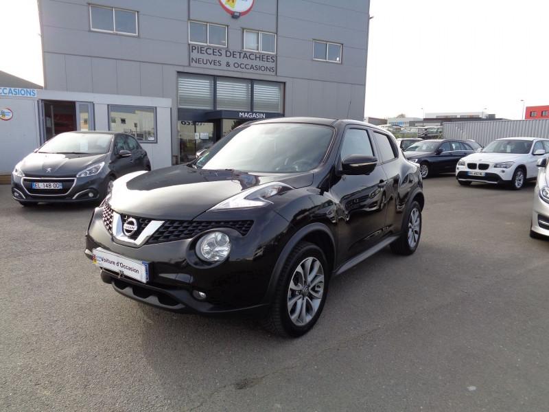 Nissan JUKE 1.5 DCI 110CH TEKNA Diesel NOIR Occasion à vendre