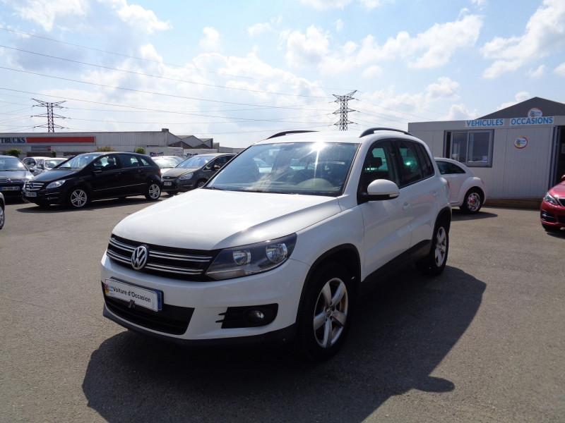 Volkswagen TIGUAN 2.0 TDI 110CH BLUEMOTION FAP EDITION Diesel BLANC Occasion à vendre