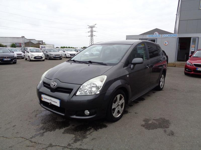 Toyota COROLLA VERSO 136 D-4D TECHNO 5 PLACES Diesel GRIS Occasion à vendre