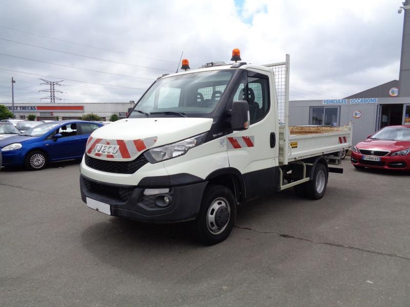 Iveco DAILY BENNE 35C15 Diesel BLANC Occasion à vendre