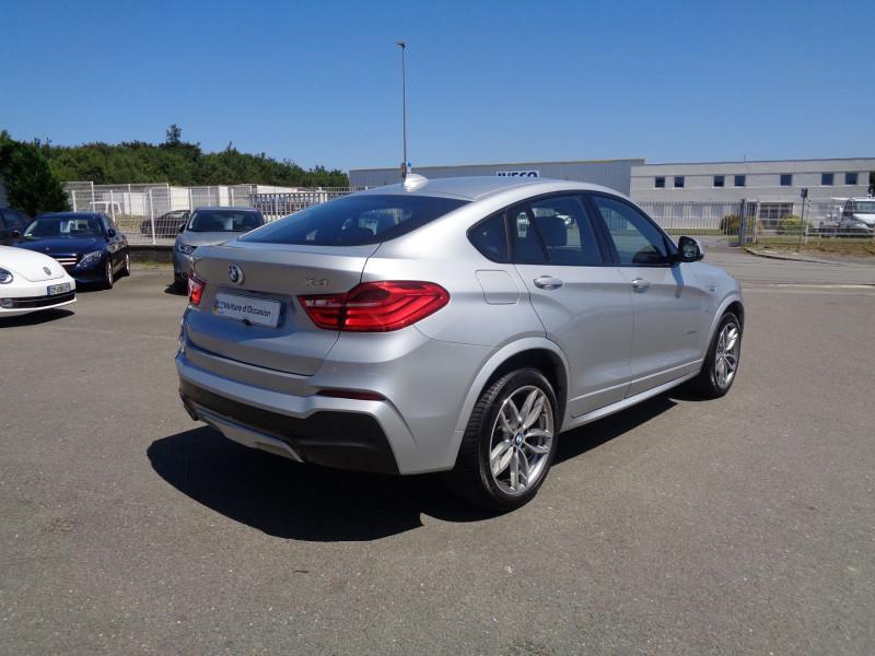 Photo 4 de l'offre de BMW X4 (F26) XDRIVE30DA 258CH M SPORT à 45900€ chez Jestin autos