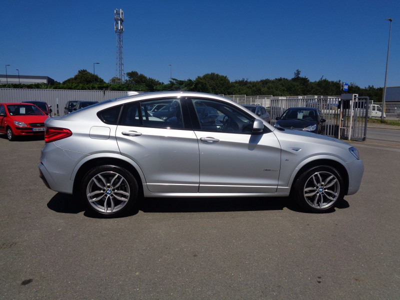 Photo 6 de l'offre de BMW X4 (F26) XDRIVE30DA 258CH M SPORT à 45900€ chez Jestin autos