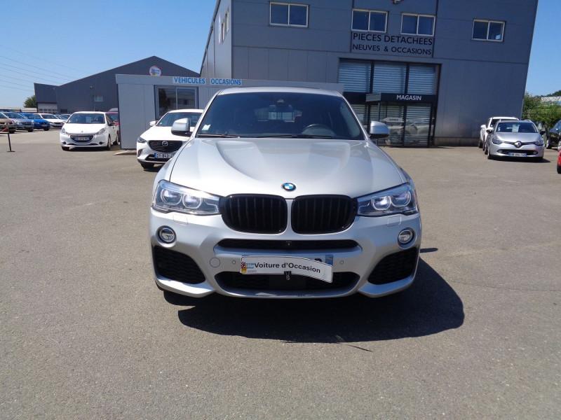 Photo 2 de l'offre de BMW X4 (F26) XDRIVE30DA 258CH M SPORT à 45900€ chez Jestin autos