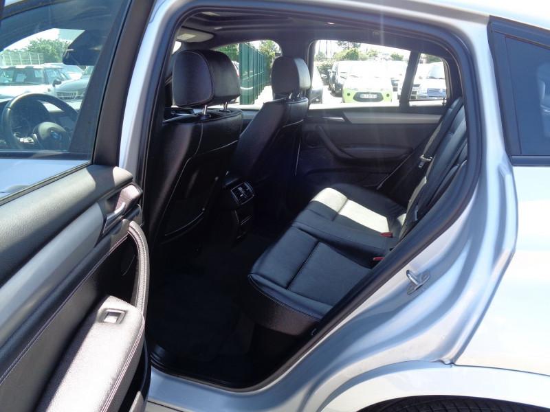Photo 10 de l'offre de BMW X4 (F26) XDRIVE30DA 258CH M SPORT à 45900€ chez Jestin autos