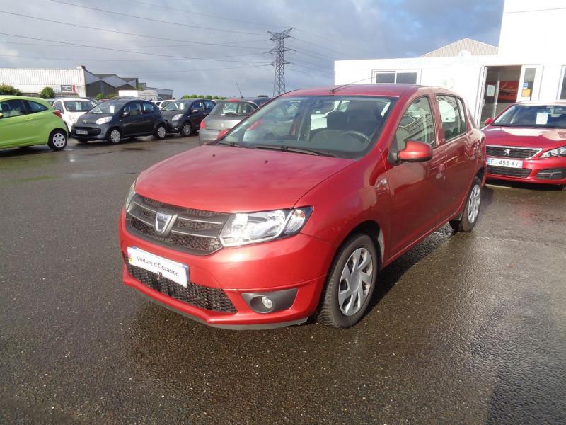 Dacia SANDERO 0.9 TCE 90CH ECO² LAUREATE Essence ROUGE Occasion à vendre