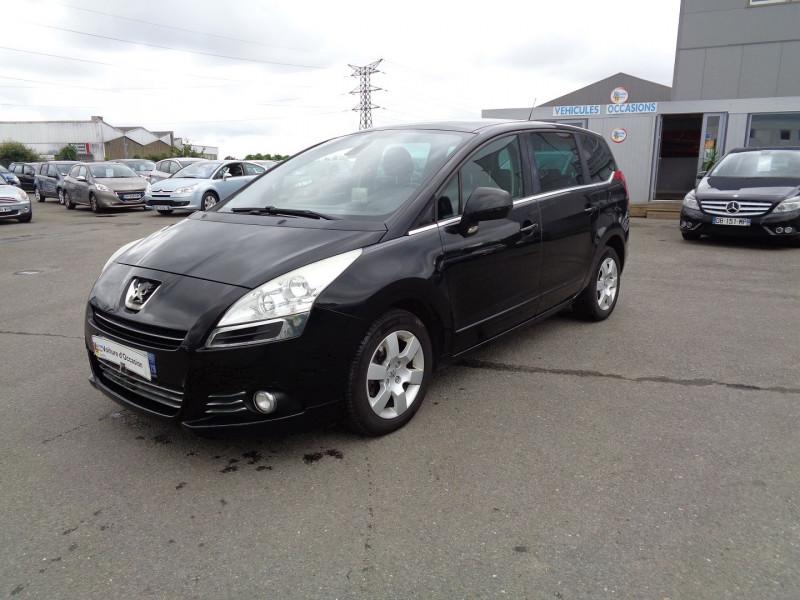 Peugeot 5008 1.6 HDI FAP CONFORT PACK 7PL Diesel NOIR Occasion à vendre