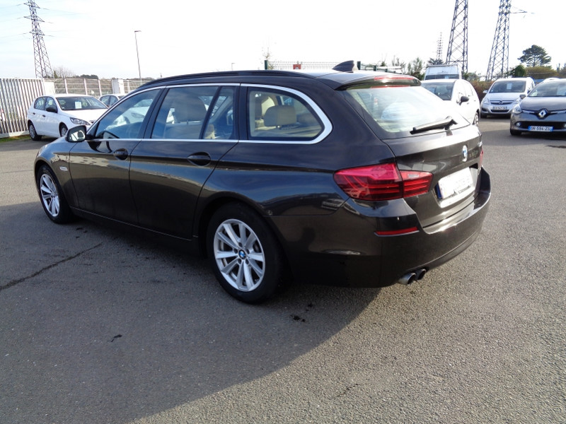 Photo 3 de l'offre de BMW SERIE 5 (F10) TOURING 520D 190CH LOUNGE PLUS à 13200€ chez Jestin autos