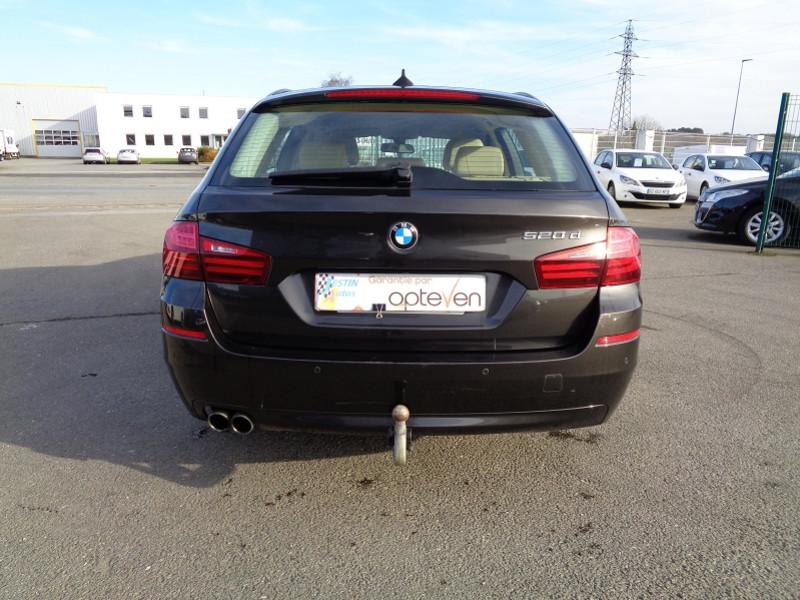Photo 7 de l'offre de BMW SERIE 5 (F10) TOURING 520D 190CH LOUNGE PLUS à 13200€ chez Jestin autos