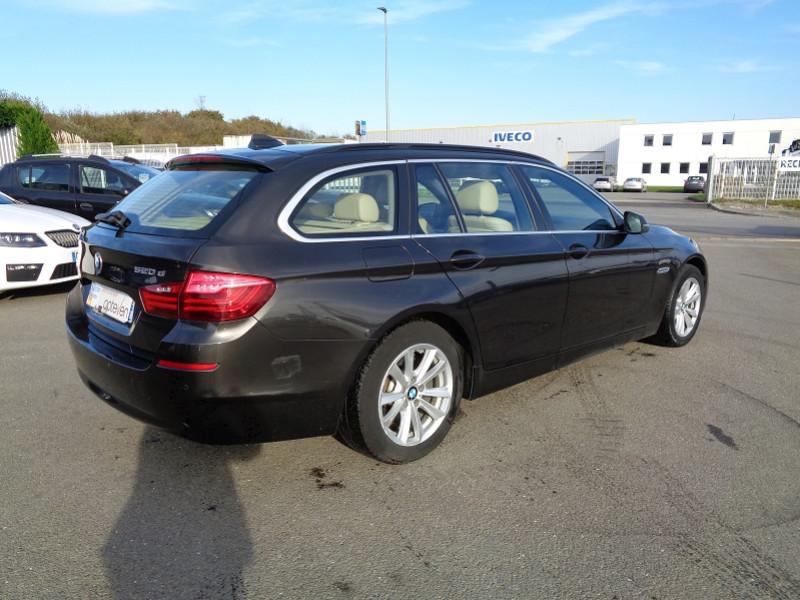 Photo 4 de l'offre de BMW SERIE 5 (F10) TOURING 520D 190CH LOUNGE PLUS à 13200€ chez Jestin autos