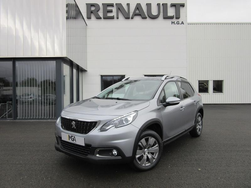 Peugeot 2008 1.2 PURETECH 130 SIGNATURE GPS Essence GRIS Occasion à vendre