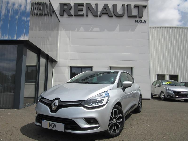 Renault CLIO IV 0.9 TCE 90CH ENERGY INTENS 5P EURO6C Essence GRIS PLATINE  Occasion à vendre